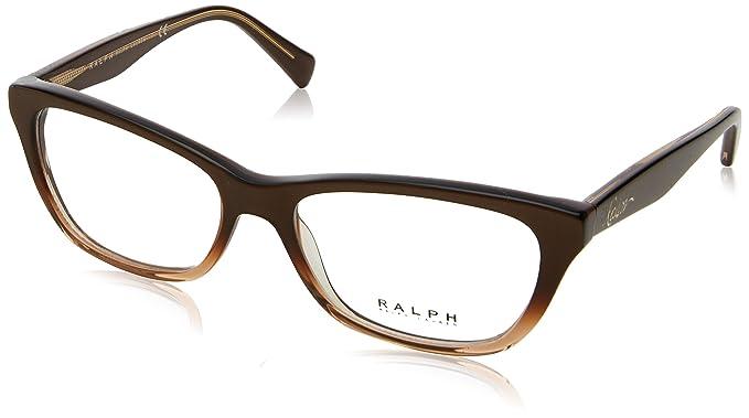 RALPH Womens 0RA4118 31996E Sunglasses, Gold/Red/Goldmirror, 54 Ralph Lauren