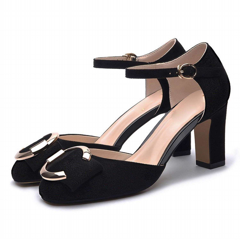 Fuxitoggo Alti Talloni Delle Damen Schuhe (Farbe     Schwarz Größe   37) 13646c