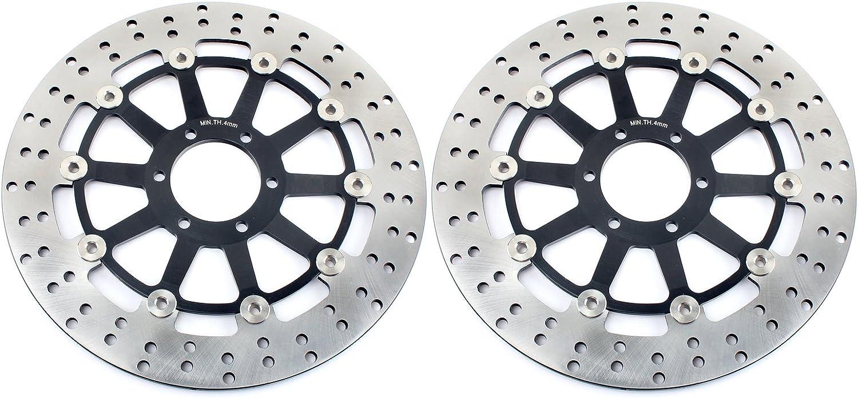 TARAZON 2x Rotores Discos de Freno Delantero para Yamaha ...
