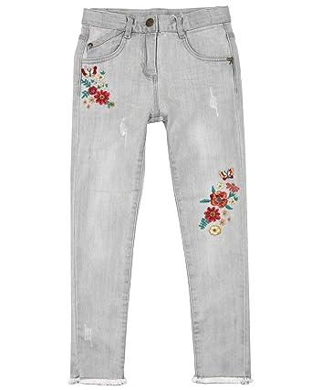 Amazon.com: Boboli - Pantalones vaqueros para niña con ...