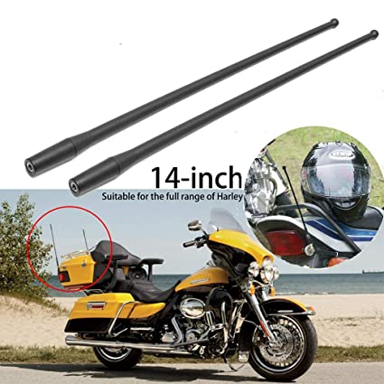 VOFONO 11 inch Rubber Antenna Replacement for 1989-2019 Harley Davidson Touring Electra Glide CVO