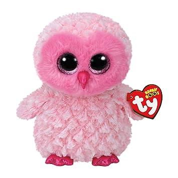 1e11657cc0c Ty Beanie Boo - Twiggy the Owl 15cm  Amazon.co.uk  Toys   Games