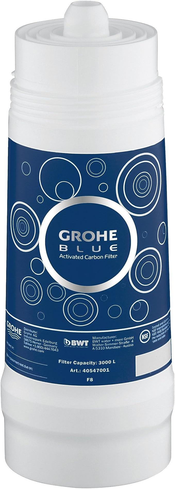 GROHE Bleu 40547001/Blue Filtre /à charbon actif