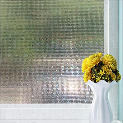 Amazon Decorative Window Film For Privacy Non Adhesive Frosted