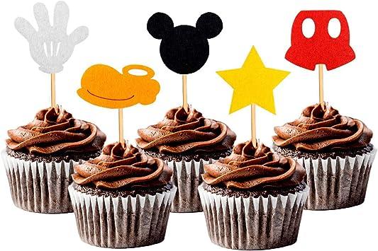 Amazon.com: Cupcake Toppers - Adornos para decoración de ...