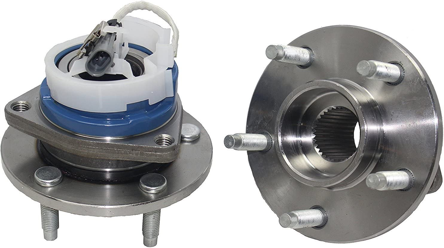 Rear Wheel Bearing /& Seal 2000-2013 CHEVROLET SUBURBAN 1500 PAIR New Axle Only