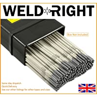 Weld Right General Purpose E6013 6013 Arc Welding Electrodes Rods 2.5mm x 20 Rods