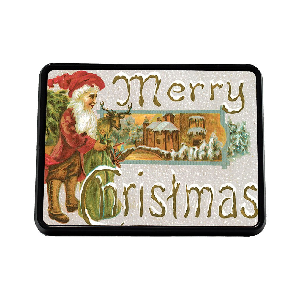 Style in Print Green Bag Christmas Card Truck Hitch Cover Receiver