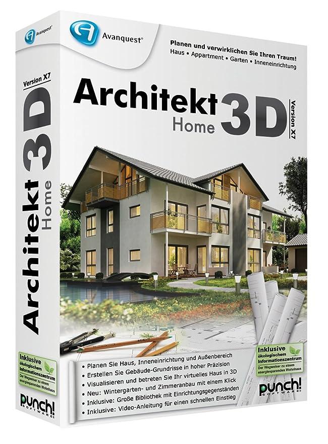 Superb Architekt 3D X7 Home: Amazon.de: Software