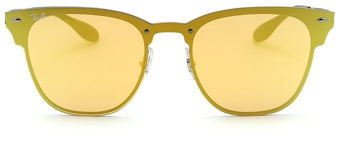 af8a429694 Amazon.com  Ray-Ban RB3576N Blaze Clubmaster Unisex Sunglasses ...