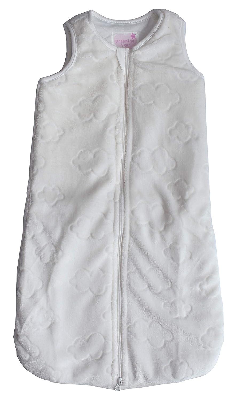 Pocopiano Baby Winter Schlafsack ohne Ärmel weichem Plüsch wattiert 70 90 110