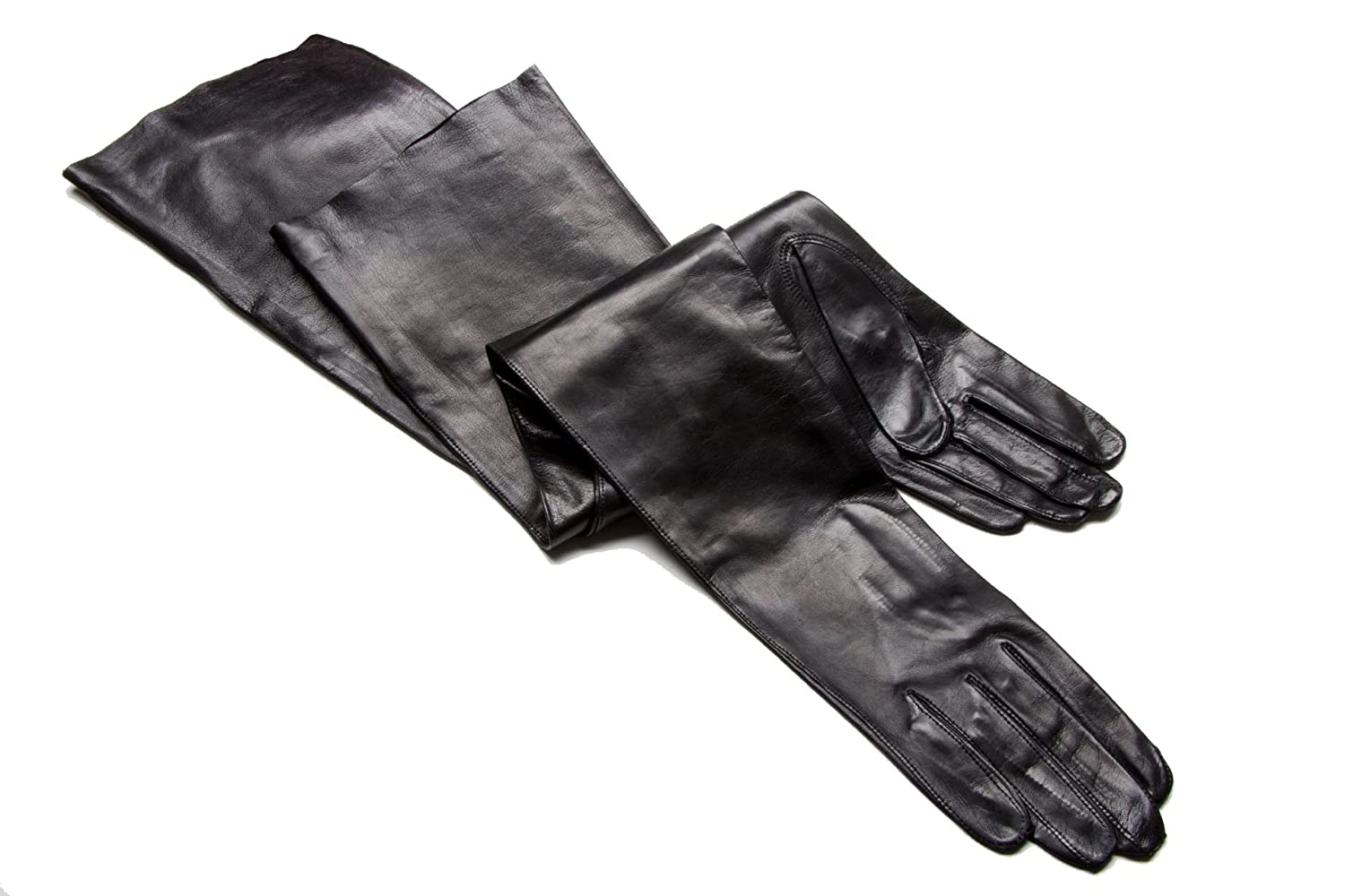 Gaspar leather driving gloves - Gaspar Opera Length Genuine Italian Leather Gloves Featured In Scandal Tv Series At Amazon Women S Clothing Store