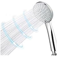 High Pressure Shower Head Universal Handheld Shower Double Boost Pressure Design for Low Water Pressure 4 Spray