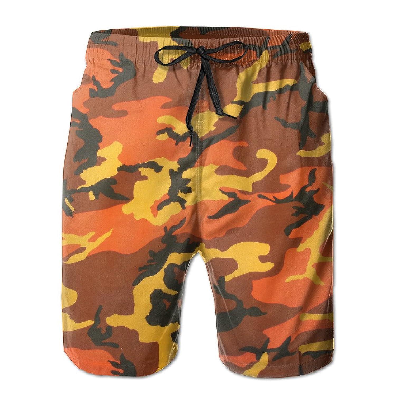 Cool Orange Camo Men s Beach Shorts Swim Trunks Casual Shorts 70%OFF ... e2013d1aa45