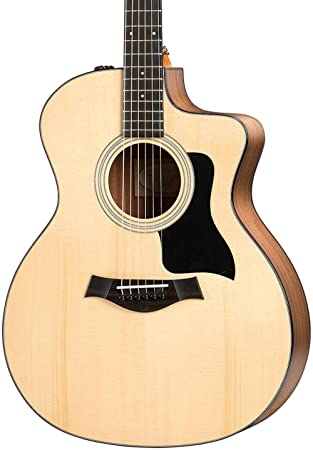 Taylor 114ce 100 Series Acoustic Guitar, Sapele, Grand Auditorium, Cutaway, ES-T best acoustic guitar