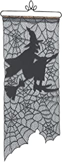 "product image for Heritage Lace Witch Wall Hanging, 12"" by 29"", Black"