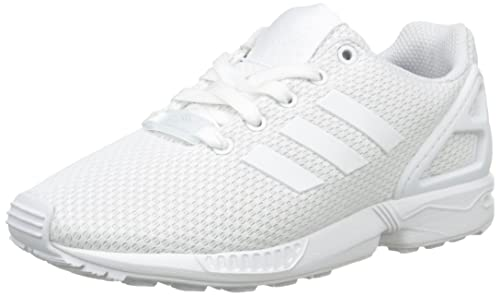 979fee6538a adidas Zx Flux, Unisex Kids' Low-Top Sneakers, White (Ftwr White