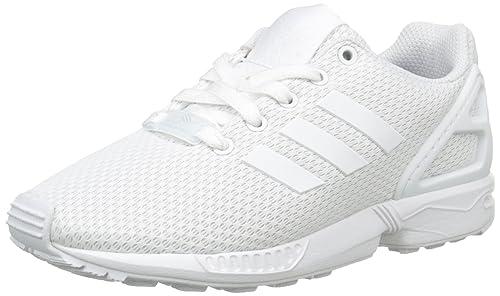 save off 634e2 d2a31 adidas Zx Flux J, Scarpe da Ginnastica Basse Unisex-Bambini, Bianco  (Footwear