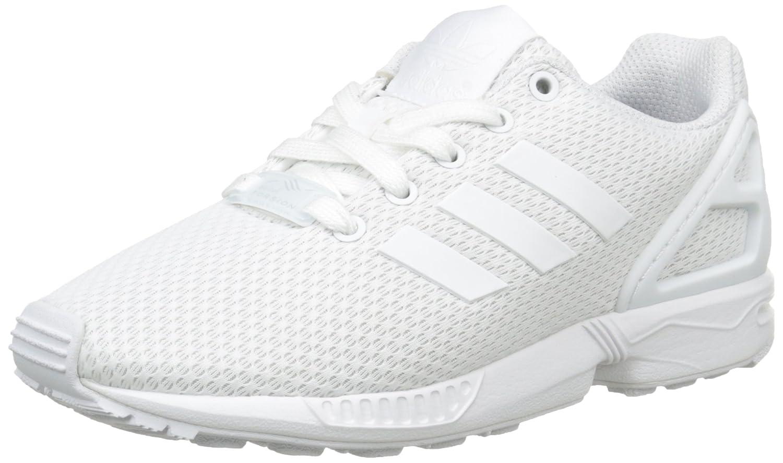 Adidas ZX Flux J, Zapatillas Unisex Niños 34 EU|Blanco (Footwear White/Footwear White/Footwear White 0)