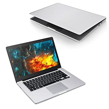 Excelvan X8 Pro Notebook de14.1 Pulgadas (Windows 10,Intel Celeron J3455 Quad Core, 6GB RAM +64GB ROM,Pantalla IPS,HDMI) Portátil Plata: Amazon.es: ...