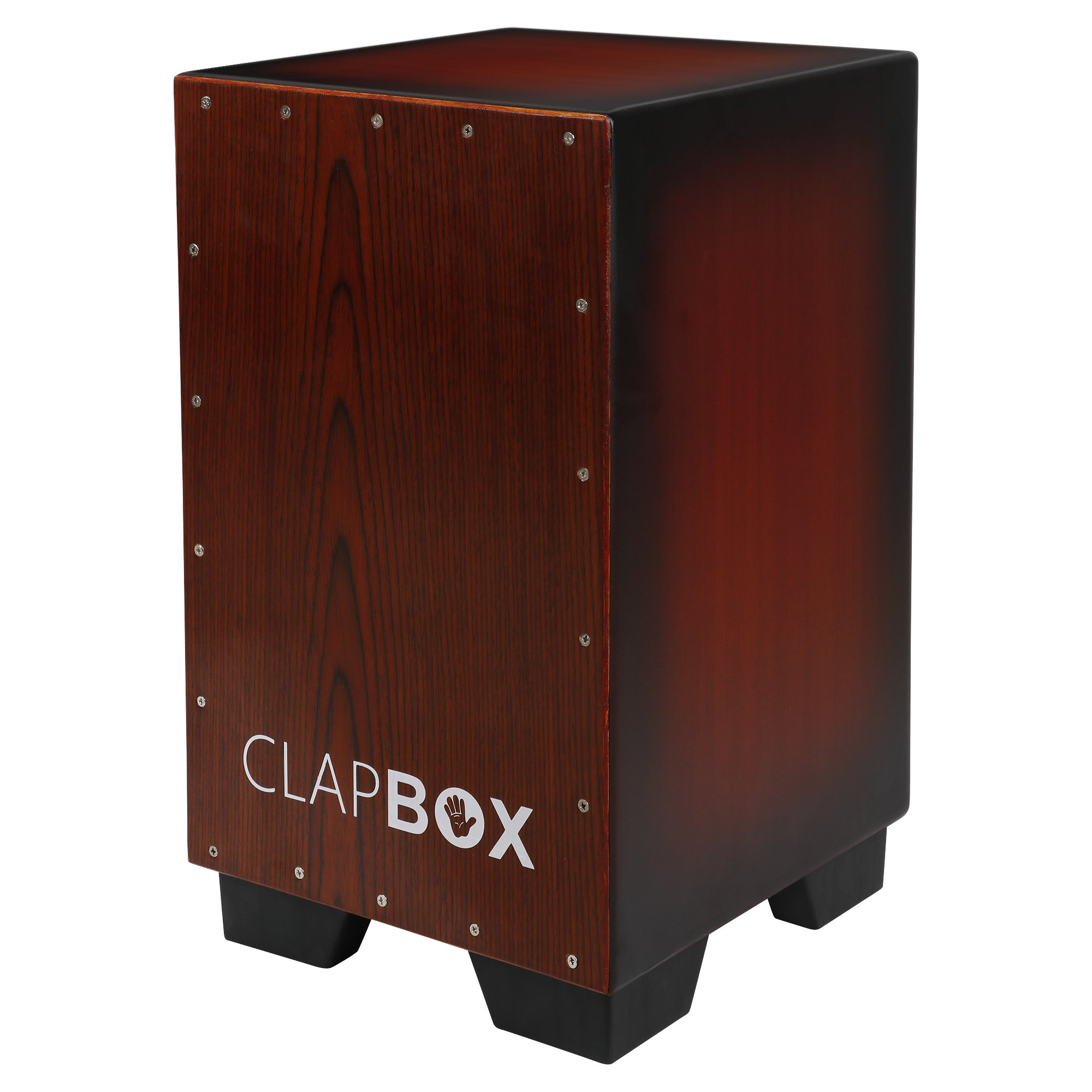 Clapbox Cajon CB11 -Sunburst, Oak Wood (H:50 W:30 L:30) - 3 Internal Snares product image