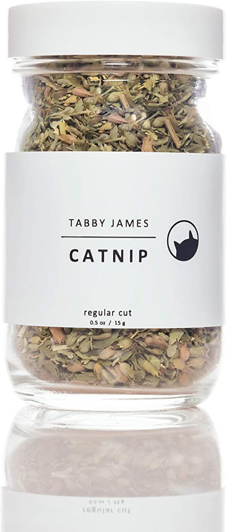 Amazon Com Tabby James Premium Organic Catnip Regular Cut Set