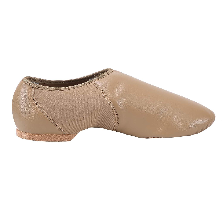 ARCLIBER Leather Jazz Shoe Women//Men Slip-on