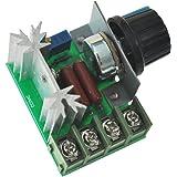 Departmenhouse 48x36x28ミリメートル電圧レギュレータ 調光ライト スピード温度監視