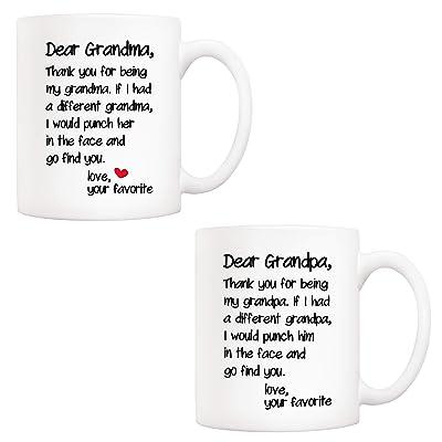 Grandson Youre Looking Awesome Funny Coffee Mug Christmas Birthday Gift