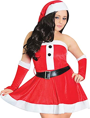 CHRISTMASSHOP Christmas Shop - Disfraz navideño Sexy para Mujer ...