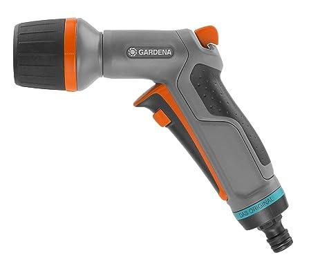 GARDENA Comfort Reinigungsspritze ecoPulse: Spritze zur leistungsstarken und wassersparenden Reinigung, mit Dauerarretierung,