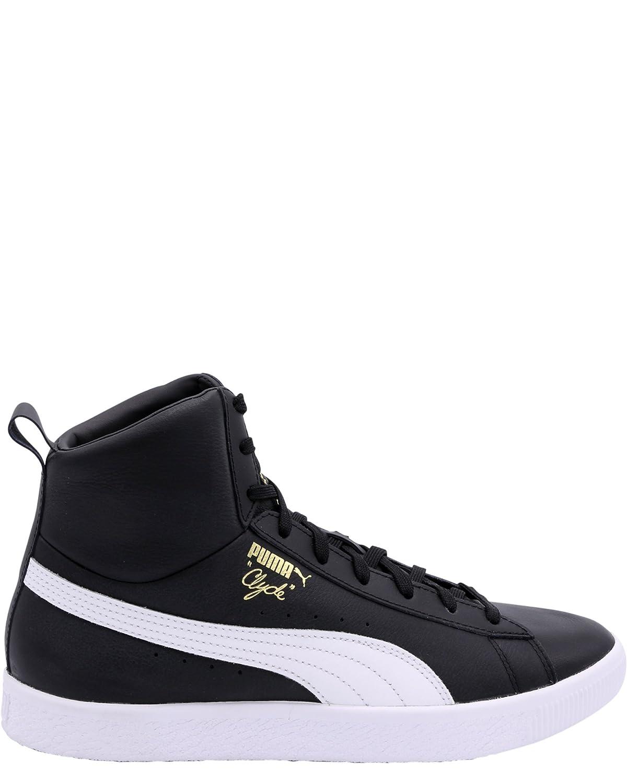 9ff7501b67a PUMA Men s Clyde Mid Core Foil Puma Black Puma White 7 D US  Amazon.ca   Shoes   Handbags