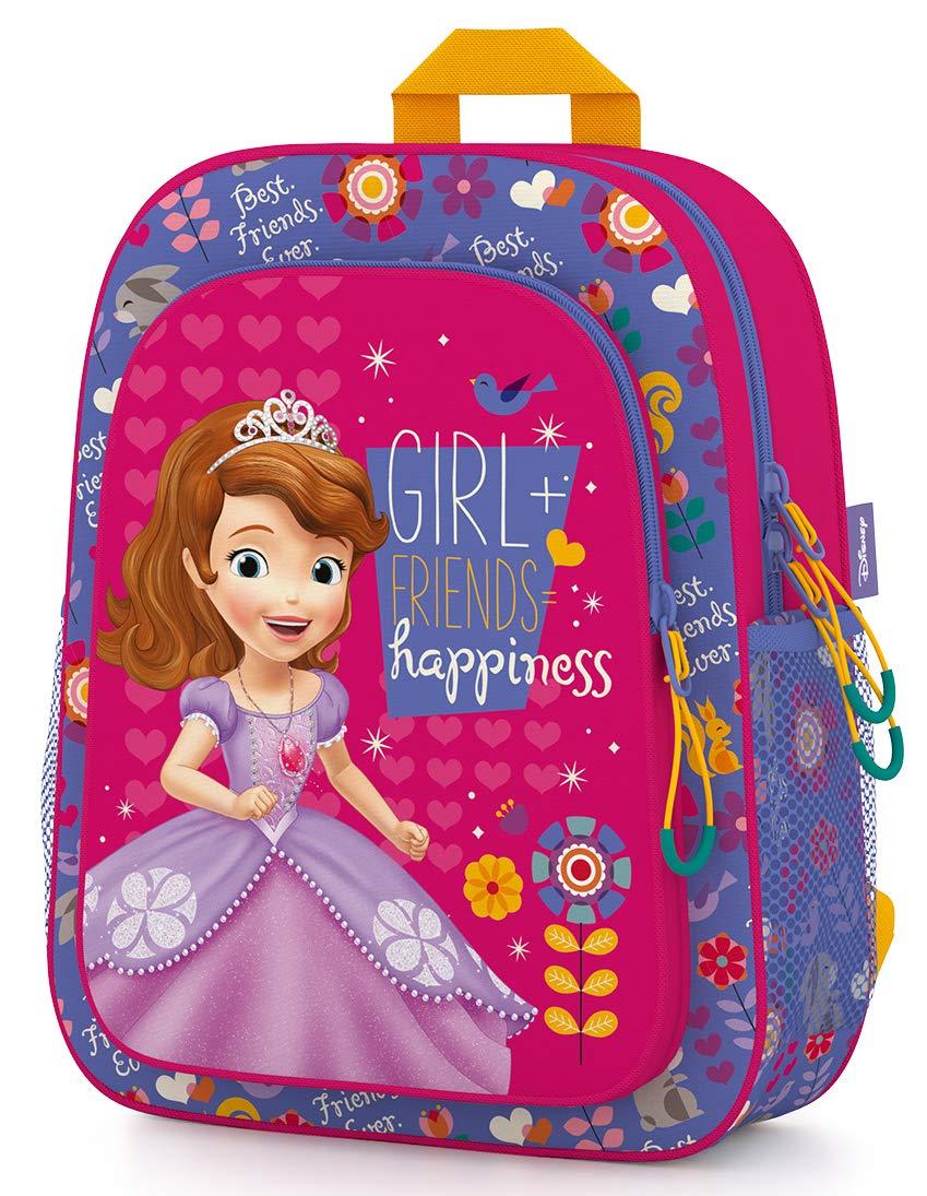 Sofia Kindergartenrucksack 30cm Kinderrucksack Tasche für Mädchen 3-6 Jahre