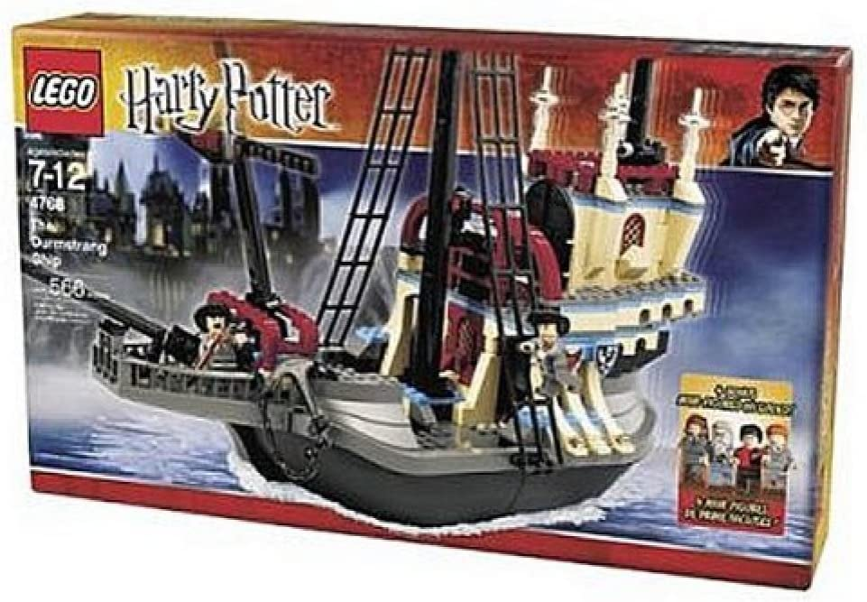 Amazon Com Lego Harry Potter The Durmstrang Ship With 4 Bonus Mini Figures 4768 566 Pieces Toys Games Check out our durmstrang selection for the very best in unique or custom, handmade pieces from our shops. lego harry potter the durmstrang ship