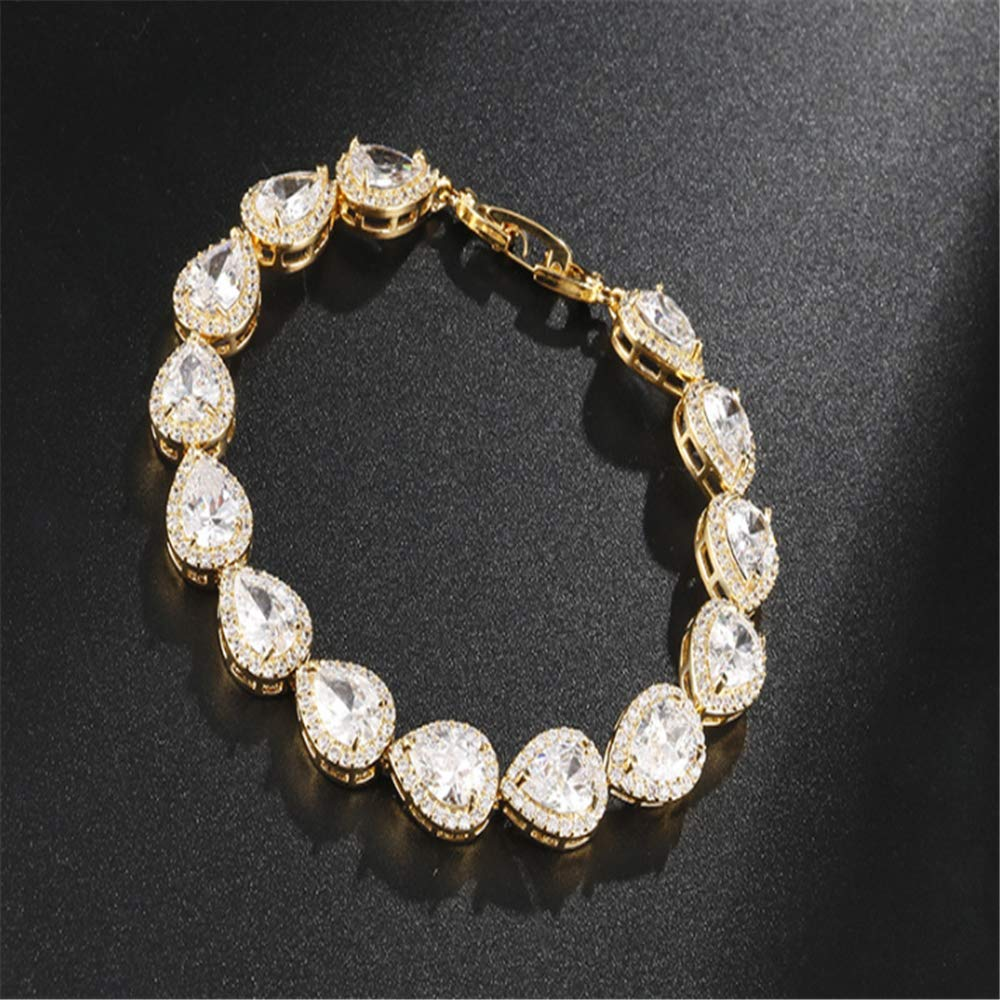 ChuangYing Angels Tears Hand-Embellished Zircon Exquisite Craft Bracelet