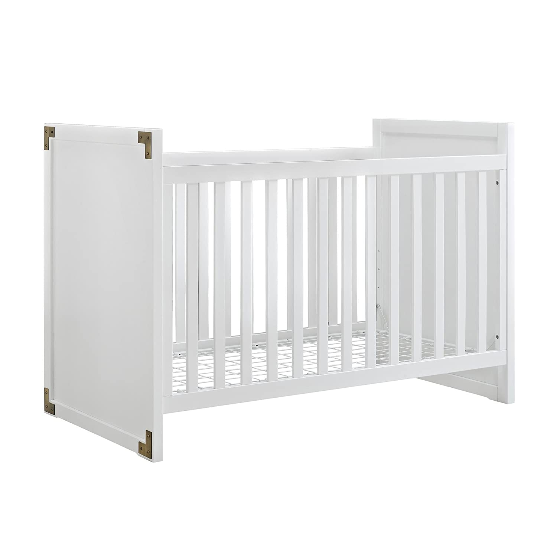 amazon com baby relax miles 2 in 1 convertible crib white baby