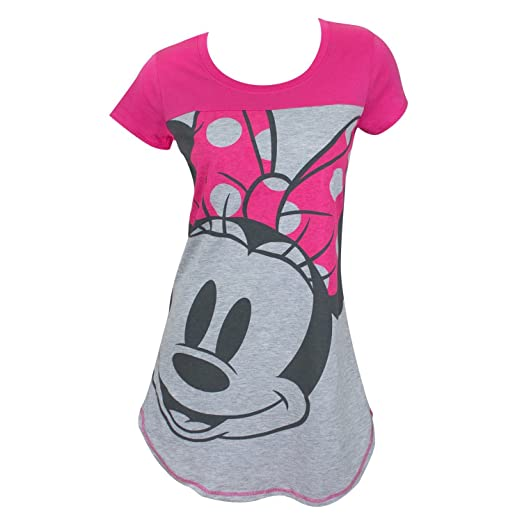 19455b8b74 Amazon.com  Disney Junior Night Shirt Mickey   Minnie Mouse Print ...