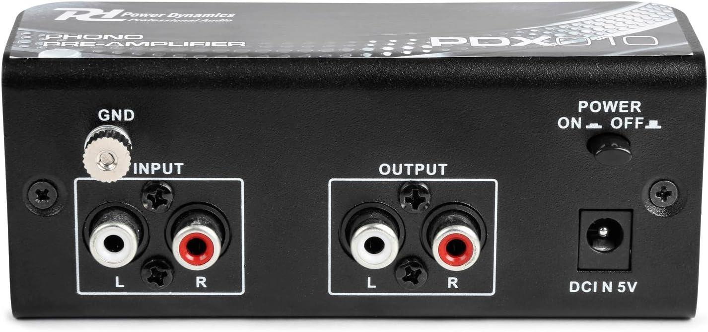 El PDX010 es un preamplificador de Phono para poder conectar ...