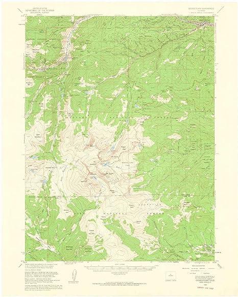 Amazon Com Yellowmaps Georgetown Co Topo Map 1 62500 Scale 15 X