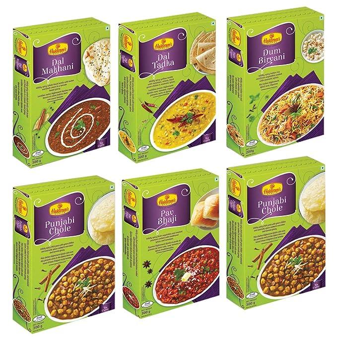 Haldiram's Nagpur Ready to Eats (Combo Pack)
