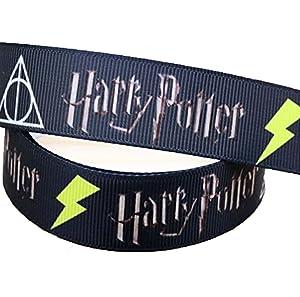 Cinta de Harry Potter del andén 9 y 3/4 de color rojo 25 mm ...