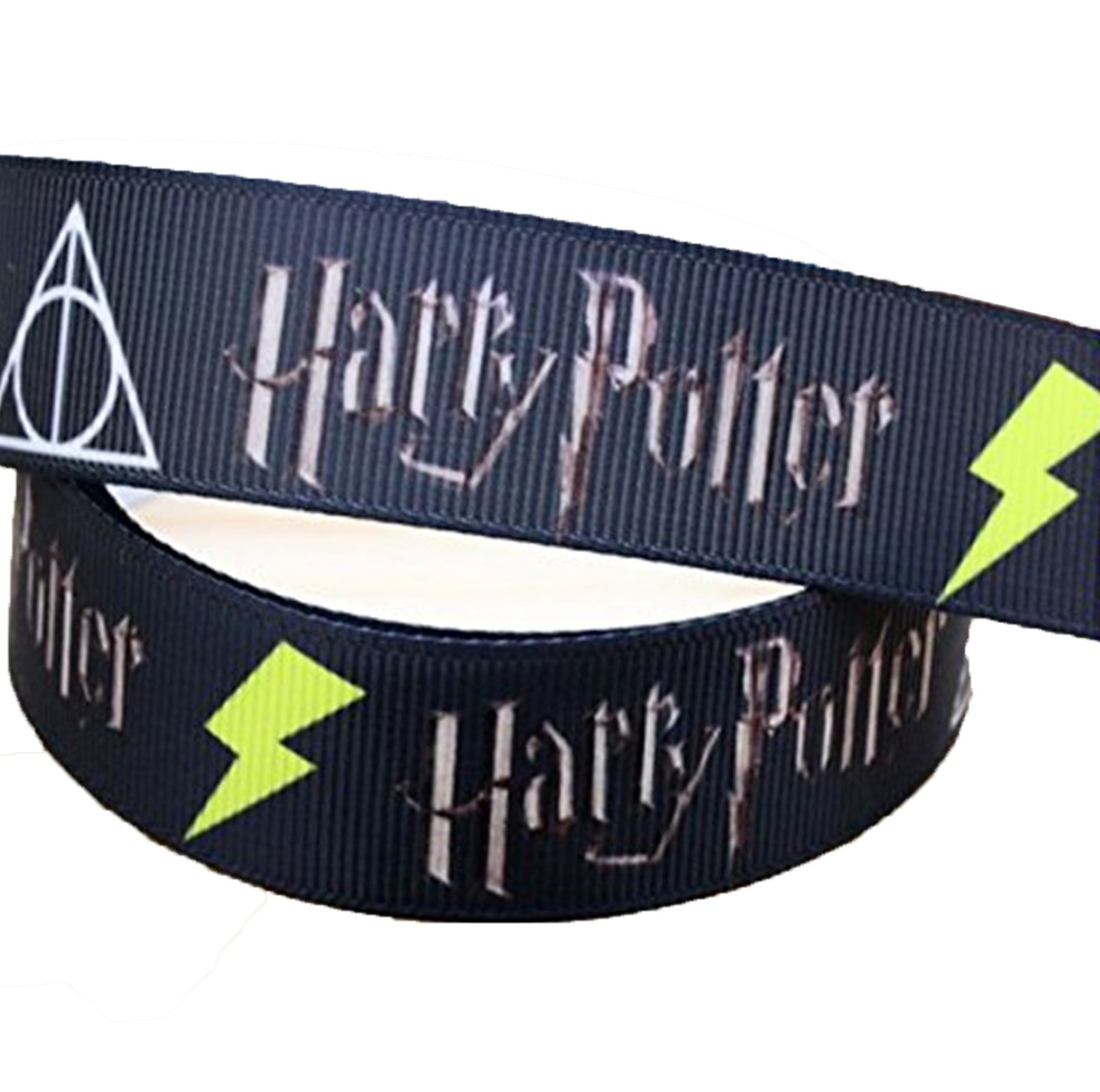 2m x 22mm HARRY POTTER GROSGRAIN RIBBON FOR BIRTHDAY CAKE'S, WEDDING CAKES, GIFT WRAP WRAPPING MOTHERS DAY Added Sparkle