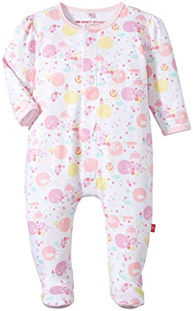 0d9cec85af21 Amazon.com  Magnificent Baby Baby Girls  Its Amazing Footie  Clothing