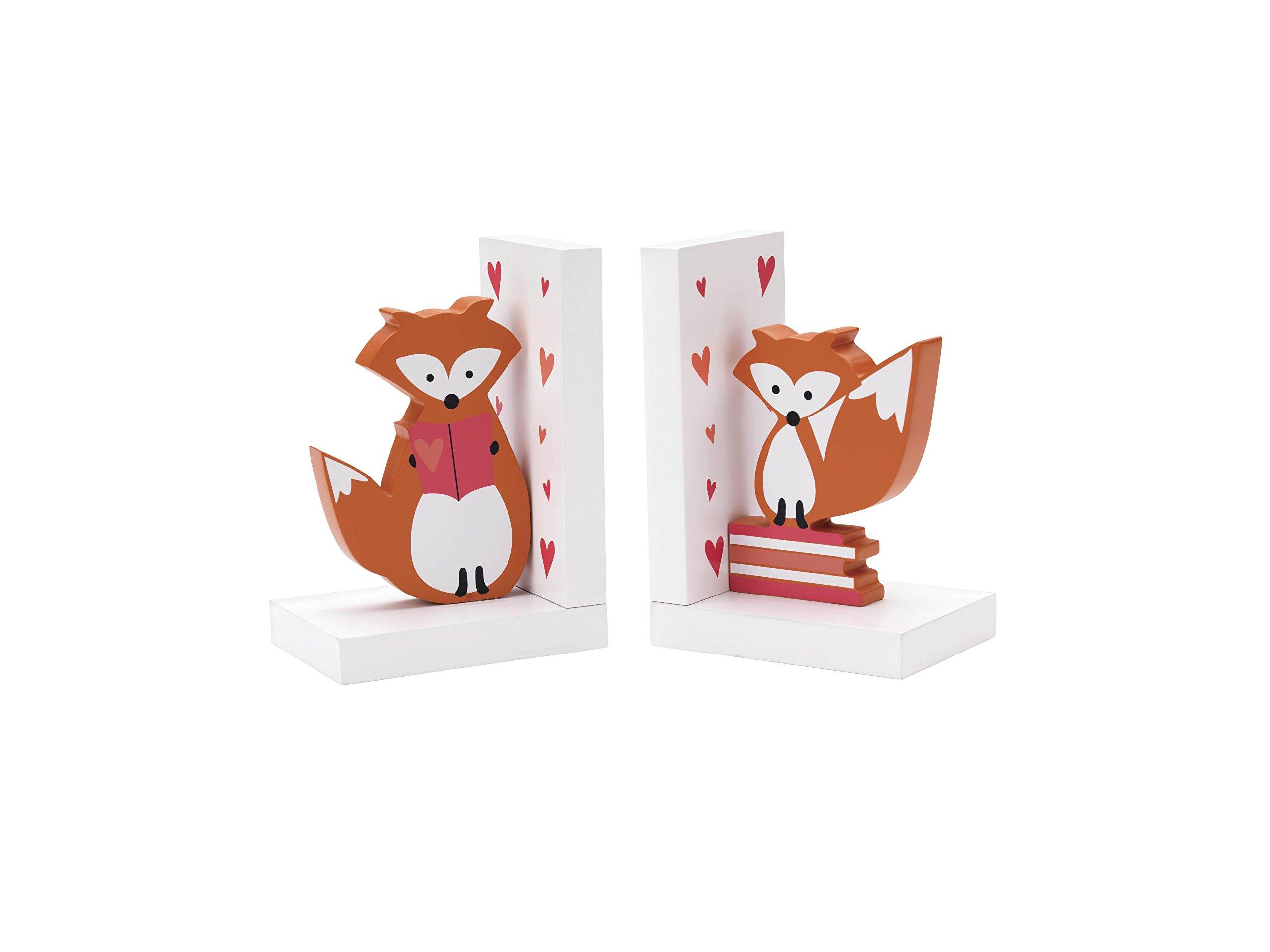 Reed & Barton 5847F Hazlenut Hollow Fox Bookends