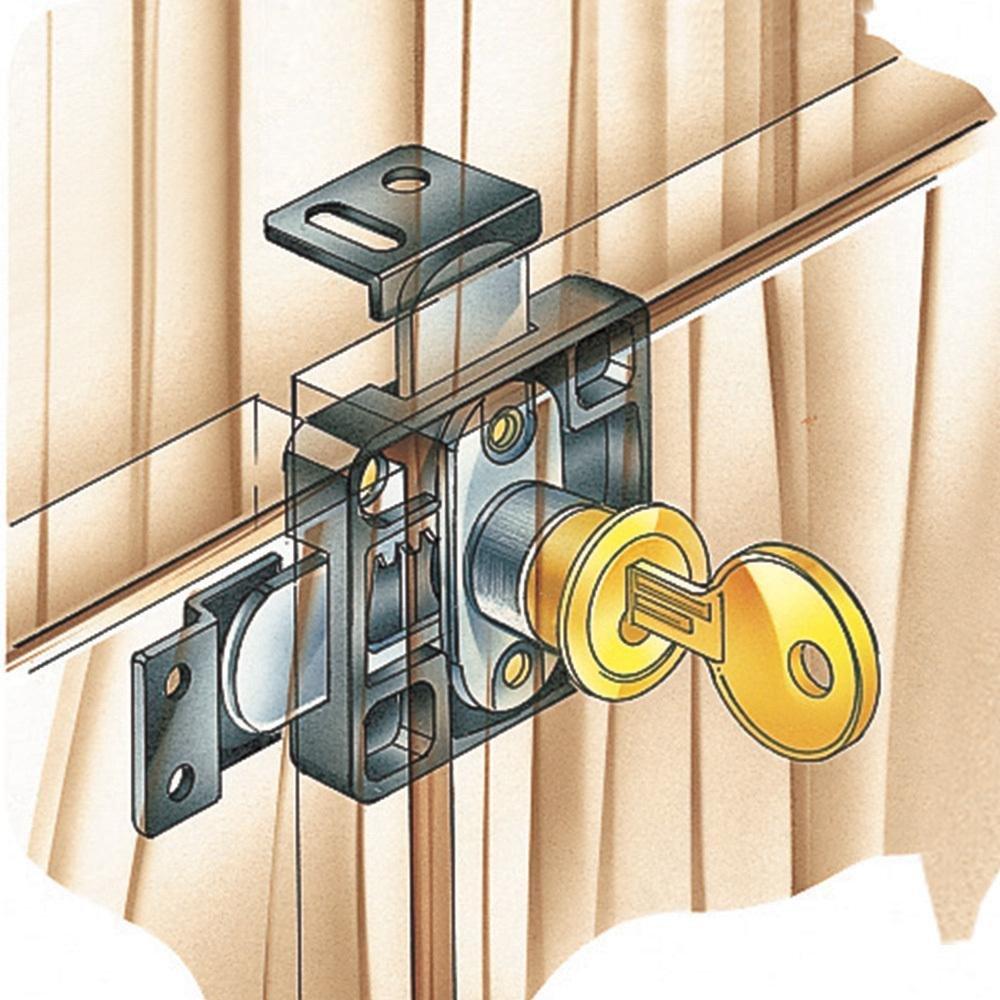 Double Door Lock Rockler