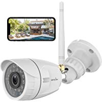 Wansview W4 1080p Wireless Outdoor Waterproof Security Camera with Night Vision, Motion Detection, Remote Access, Compatible with Alexa