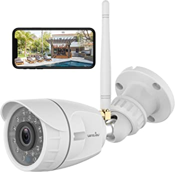Wansview 1080p WiFi Security Camera with Night Vision & Motion Detection