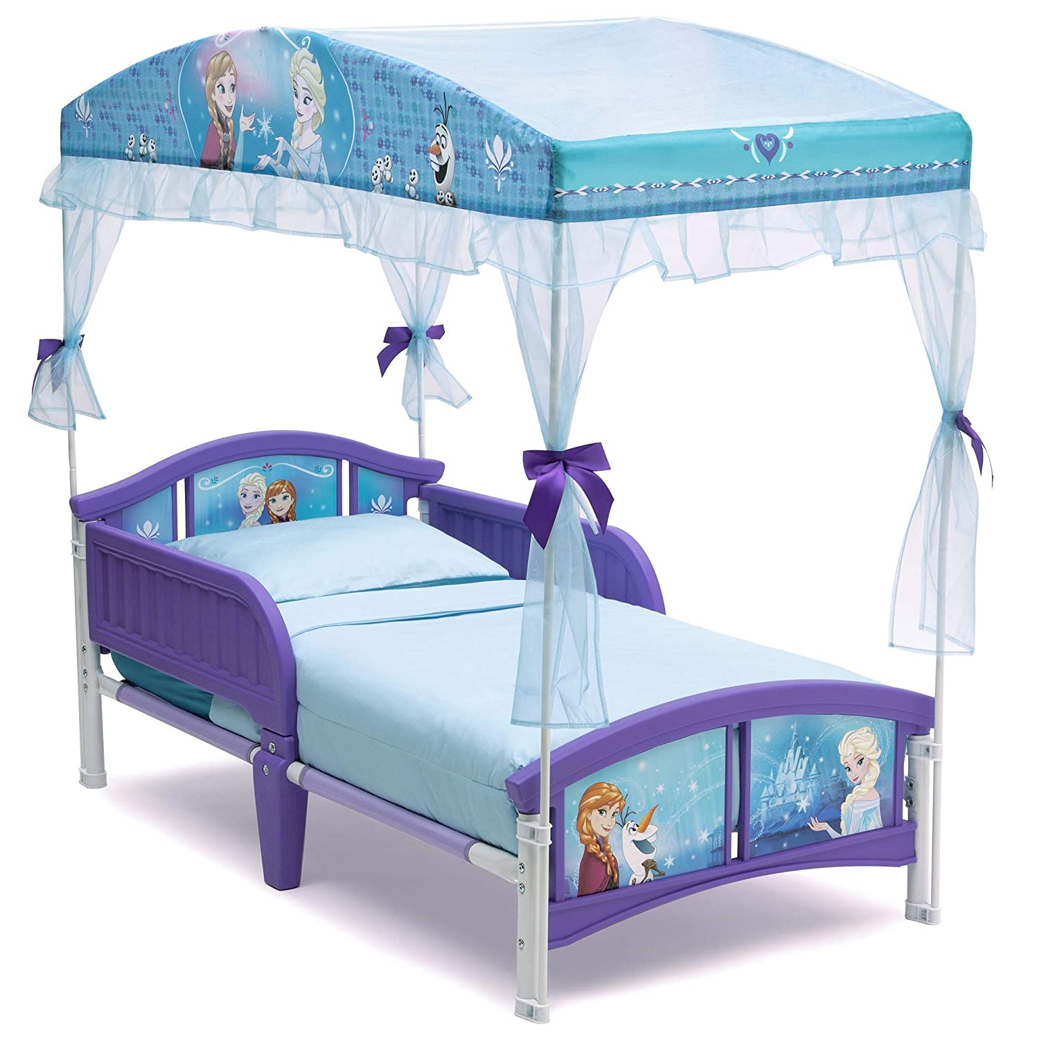 - Amazon.com : Delta Children Canopy Toddler Bed, Disney Frozen : Baby