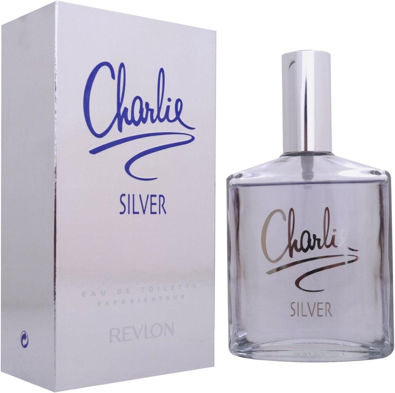 Charlie Silver Eau de Toilette 100ml