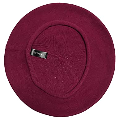 Parkhurst Of Canada 11 12 Inch Cotton Knit Beret Berry Blossom At